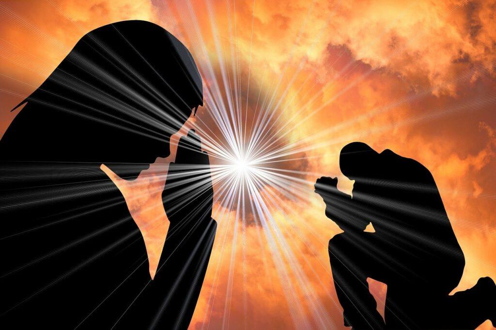 pray, light, faith