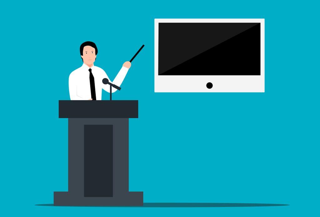 teacher, presentation, education
